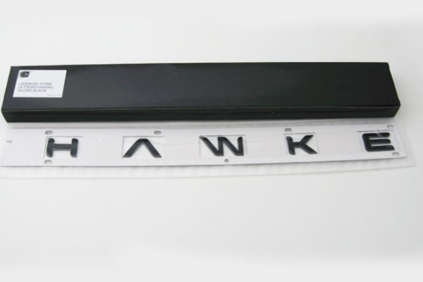 Land Rover Discovery 3 Black 'HAWKE' Lettering